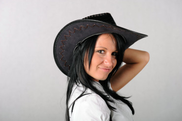 Cowgirl in the Hat