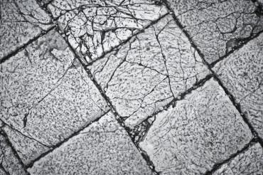 Cracked Bricks Background