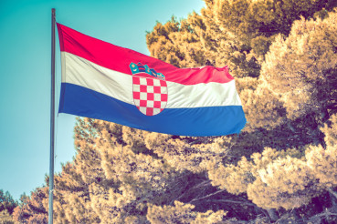 Croatian National Flag Pole