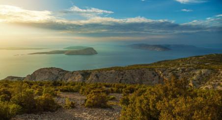 Croatian Scenic Landscape