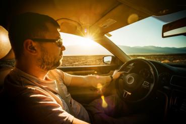 Crossing California by Car
