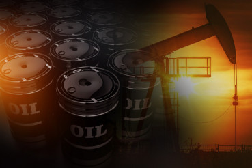 Crude Oil Reserves Concept