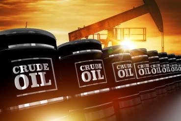 Crude Oil Trading Concept