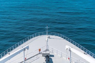 Cruise Ship Bow Closeup