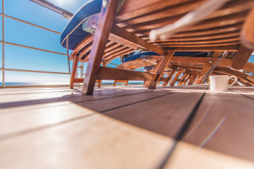 Cruise Ship Deckchairs