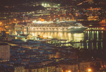 Cruise Ship in La Spezia
