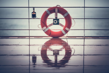 Cruise Ship Lifebuoy Ling