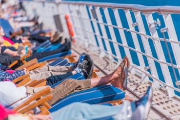 Cruise Ship Sunny Day