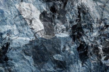 Crumpled Bluish Paper