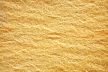 Crumpled Yellow Paper