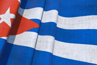 Cuban National Flag 3D