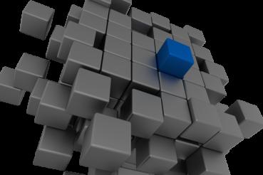 Cubes Concept PNG