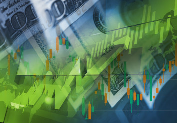 Currency Money Trading Concept