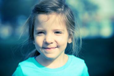 Cut Happy Child Portrait