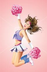 Dancing Cheerleader