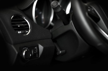 Dark Car Interior