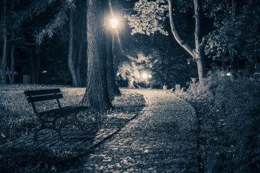 Dark Creepy Park Place
