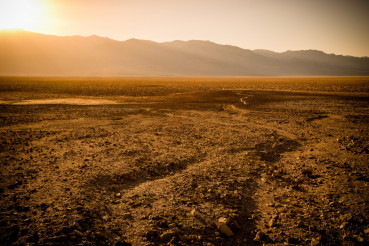 Death Valley Sunset Scenery
