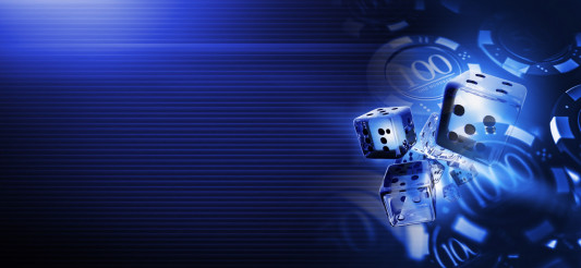 Deep Blue Casino Craps Dices