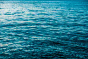 Deep Blue Sea Surface