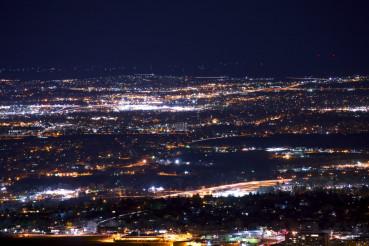 Denver Metro Night Panorama
