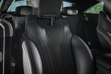 Detailed Cleaned Modern Luxury Car Seats