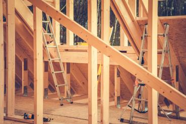 Developed House Wooden Skeleton Frame