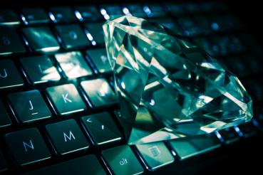 Diamond on the Keyboard