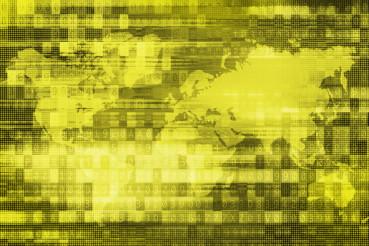 Digital Global Background