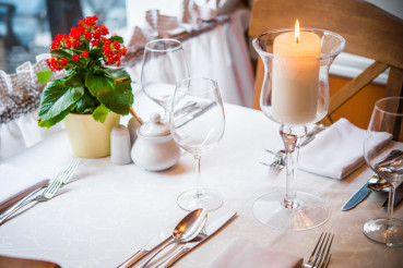 Dinner in the Restaurant
