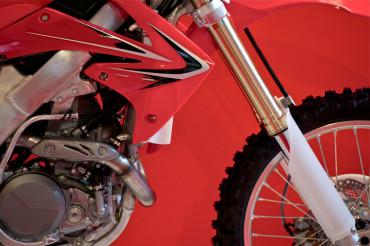 Dirt Bike Closeup