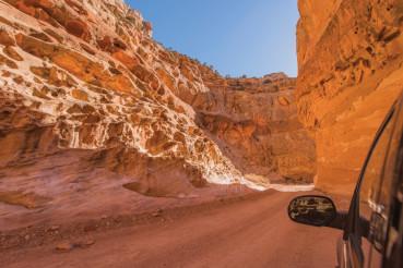 Dirty Canyon Road in Utah