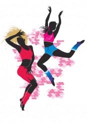 Disco Dancing Girls