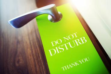 Do Not Disturb Hotel Hanger