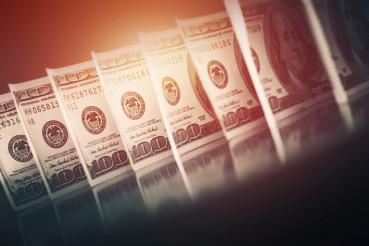 Dollar Banknotes Concept