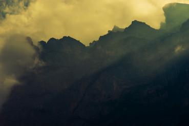 Dramatic Mountain Vista