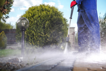 Driveway Pressure Wash
