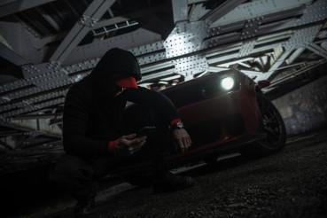 Drug Dealer Making Phone Call To His Fellow Gang Members