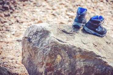 Drying Trekking Shoes