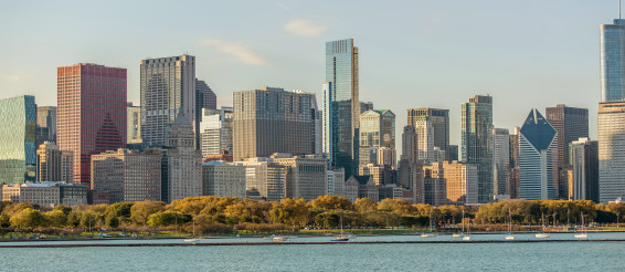 Chicago Waterfront Cityscape