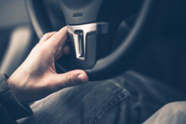 Easy Driving Hand on Wheel