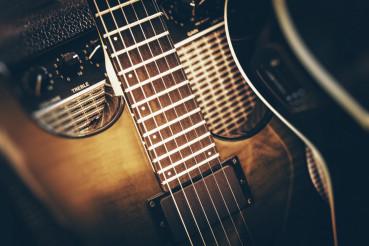 Electric Bass Guitar Playing