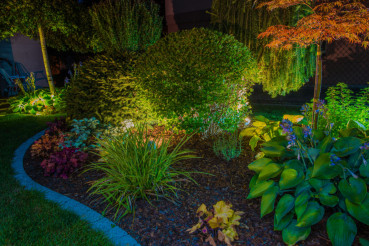 Elegant Garden Illumination