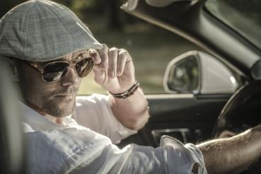 Elegant Gentlemen Driver