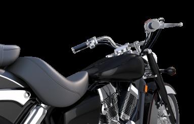 Elegant Motorcycle Illustration
