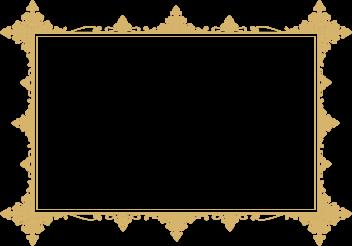Elegant PNG Vintage Frame
