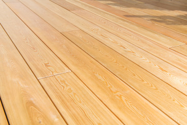 Elegant Porch Wooden Floor