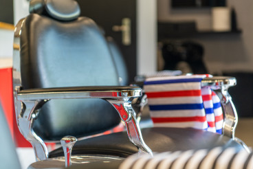 Empty Barber Shop Chair