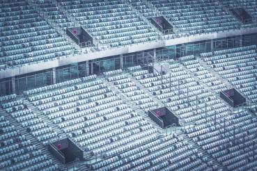 Empty Soccer Football Stadium