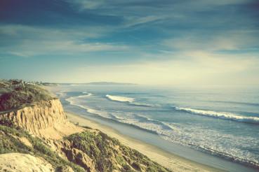Encinitas California Ocean Shore